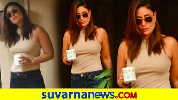 Kareena Kapoor Khan massively trolled for drinking coffee at her buildings parking space dpl
