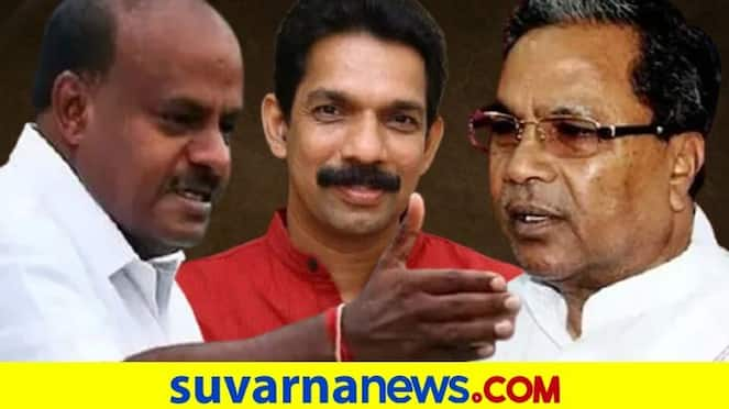 Asianet Suvarna Special War of Words Between Political Leaders pod