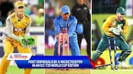 Most dismissals by a wicketkeeper in an ICC T20 World Cup edition-ayh
