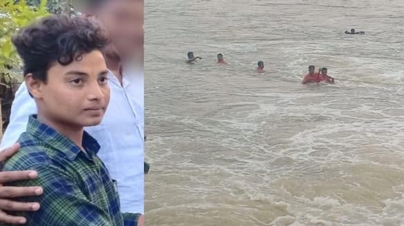 student drowned at Njavalam Kadavu in Bharathapuzha Palakkad