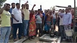 locals shows agitation after not get purified drinking water in malda bmm