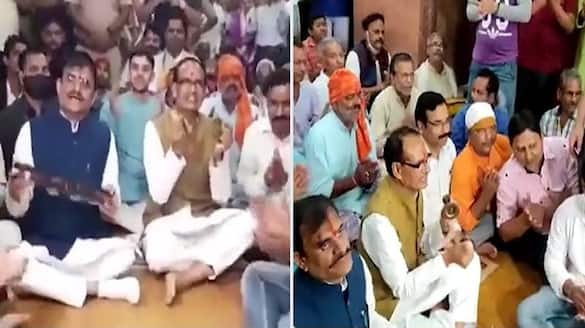 video of CM Shivraj VD Sharma regarding inflation in midst of MP by election campaign is going viral know its truth