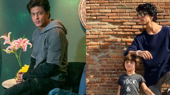 Shahrukh can do anything to save his child at any cost even by standing in front of a running car