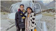 Samantha  spiritual journey with her close friend latest photos goes viral