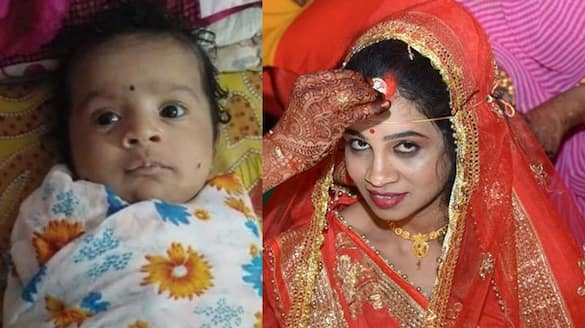 MP Ujjain woman killed her 3 month old daughter by drowning her in water