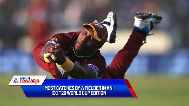 Most catches by a fielder in an ICC T20 World Cup edition-ayh