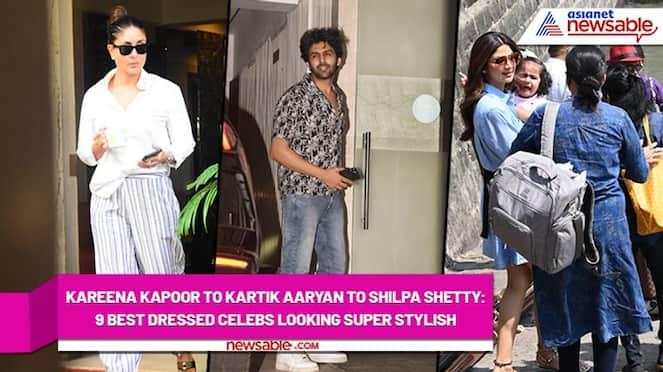 Kareena Kapoor to Kartik Aaryan to Shilpa Shetty: 9 best dressed celebs looking super stylish - syt