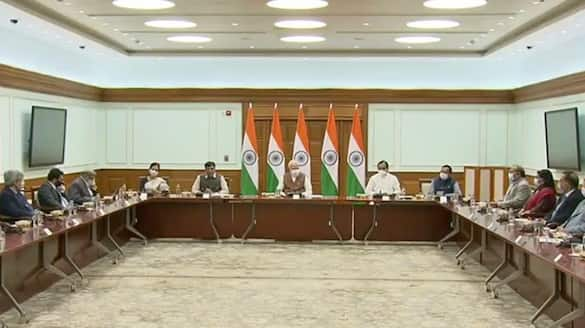 PM Modi during interaction with domestic vaccine manufacturers says vital role in India's success story gcw