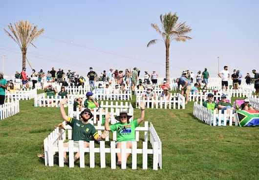 T20 World Cup 2021: Spectators Watching Match At Adu Dhabi Stadium From Family Pods