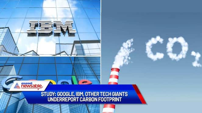 IBM Google and other tech giants underreport carbon footprint Study