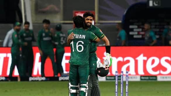 T20 World Cup 2021 IND vs PAK Pakistan cricket team create new history with 10 wicket win over India