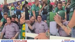 T20 World Cup 2021, IND vs PAK, Babar Azam father cried out of joy after Pakistan defeated India, see video