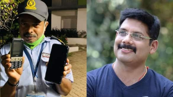 Actor Aneesh Ravi with  heart touching note