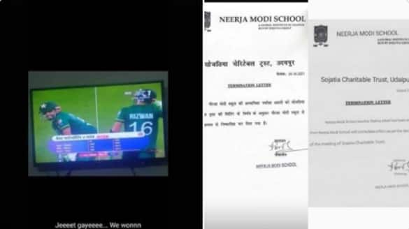 Teacher gets expelled after expresses joy over Pakistan win against India