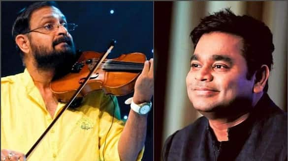 a r rahman wishes ouseppachan all the best for his 200th film