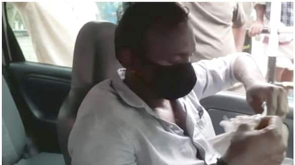 PRD official caught by Vigilance while taking bribe