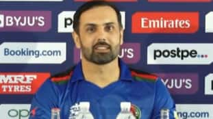 ICC T20 Worldcup2021: How many questions are there? my english will be over in 5 minutes: afghanistan skipper mohammad nabi hilarious comment in the pc