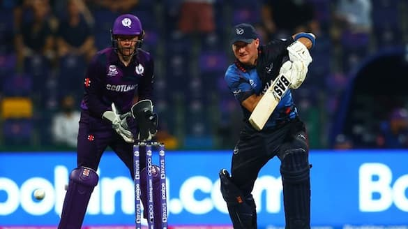 T20 World Cup 2021 Namibia beat Scotland by 5 wickets in Abu Dhabi ckm