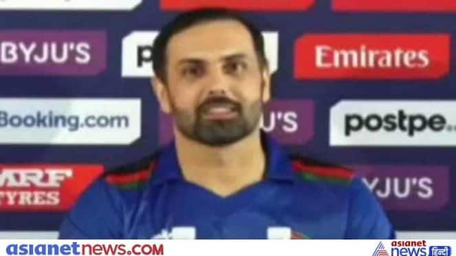 T20 World Cup 2021, Funny video of Afghanistan captain Mohammad Nabi goes viral