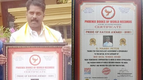 Proceeded to bury the bodies of those died by covid award to Munnar Panchayat Vice President