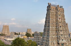 <p>Meenakshi Amman temple in Madurai re-opened on Tuesday (September 1) after 165 days as part of the new relaxations under Unlock 4.<br /> &nbsp;</p>