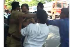 SFI Attacks Police