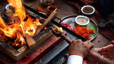 Homa Held for Prevent for Coronavirus at Dharwad grg