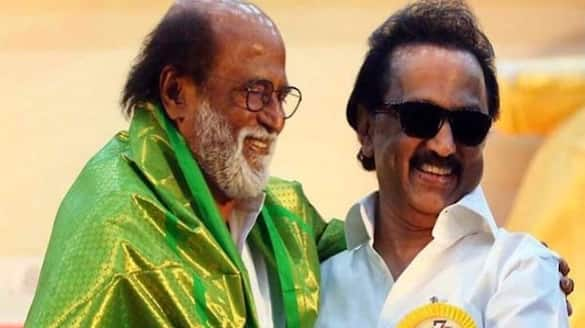 Super Star Rajinikanth Wish DMK Leader MK Stalin for TN Election victory