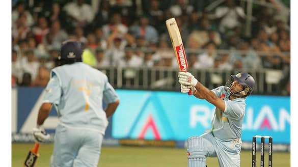 T20I World Cup 2021, Yuvraj Singh re-enacts his famous 6 sixes in an over, Video goes Viral ALB