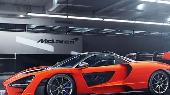 McLaren arrives in India with three supercars