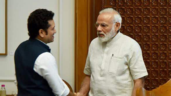 From Tendulkar to Chanu - Indian sportspersons pour in wishes on Prime Minister Narendra Modi's 71st birthday-ayh