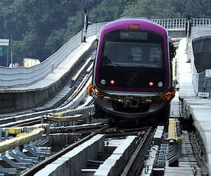 Bengaluru: Second metro train with six bogeys opened for public use from today