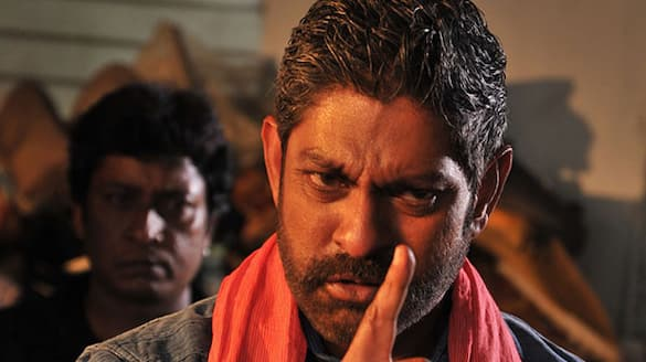 hero movie starts post production work jagapathi babu dubs for his role ksr